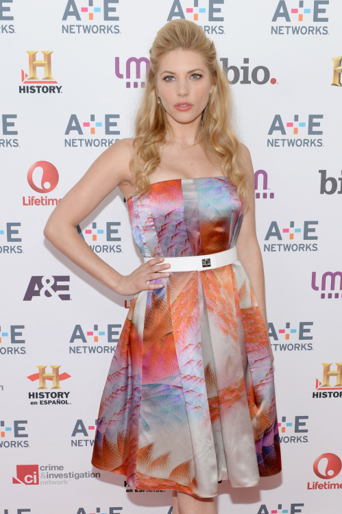 Katheryn Winnick - A&E Networks Upfront in New York, May 8, 2013