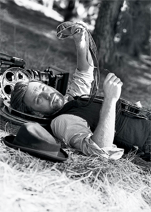Ewan McGregor for the 2013 Vanity Fair Hollywood Portfolio, ph. Bruce Weber  Let's watch some films together.