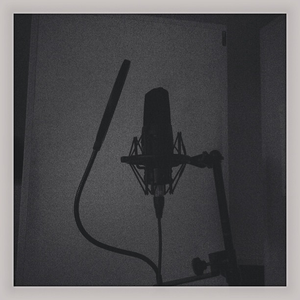 Vocals today in the studio