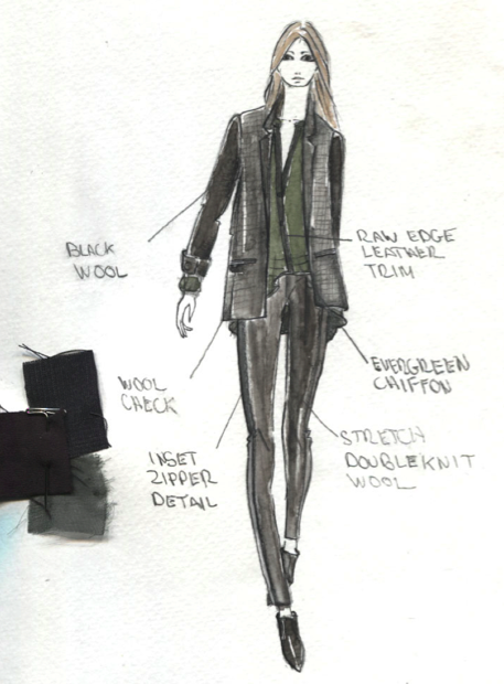 Can't wait for you to see the entire Fall '13 collection during Fashion Week, but here's a sneak peek. #12daysofNYFW