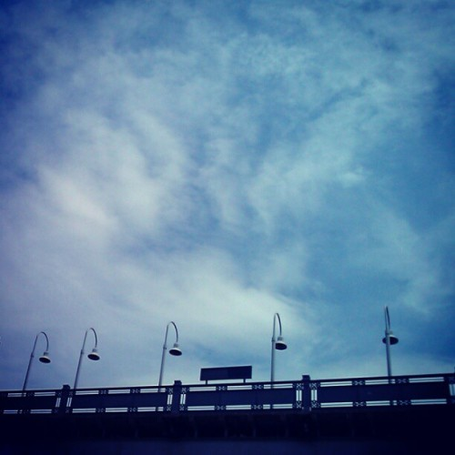 #instaswarm Train Station Clouds #instagramuptown #inwood #washingtonheights #newyork #newyorkcity #nyc #uptown #clouds #mta
