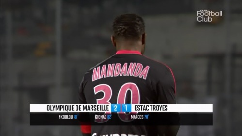 03/03/2013 - Canal Football Club - Ligue 1 - OM vs ESTAC (2:1) - Steve Mandanda