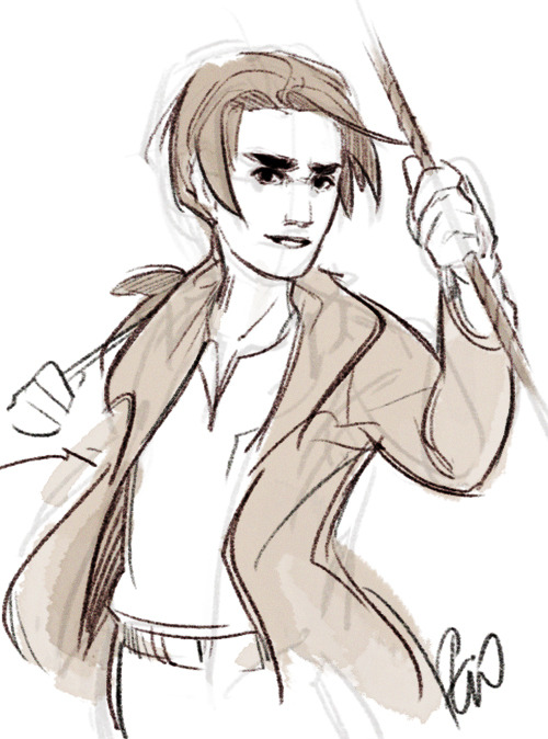 sketch of Jim Hawkins for silentspaces :)