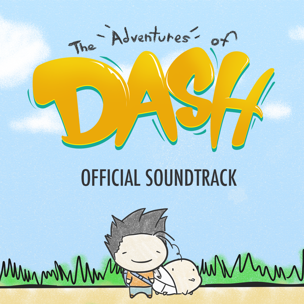 Download the official soundtrack for The Adventures of Dash for FREE! As our THANK YOU for all the support and positive messages we've received since announcing The Adventures of Dash 30 days ago, we wanted to share our current official soundtrack with all of you!  Composed by: Danny Baranowsky  Developed by: Robotoki