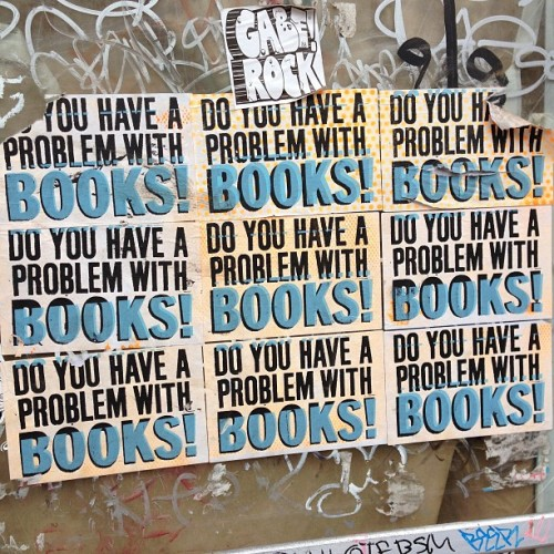 peterwknox:  Do you have a problem with Books? (at Frenchmen's Street)  Then we need to talk.