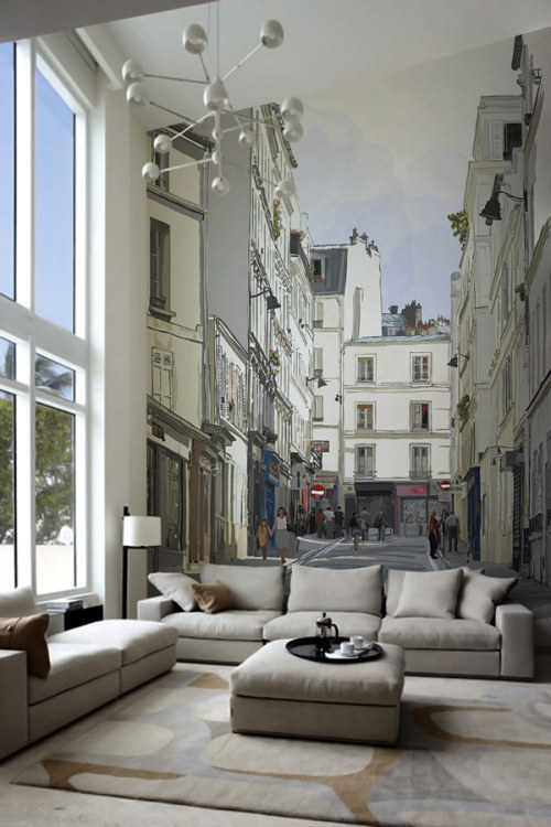 in-room paris  | via living-in-luxury : handa