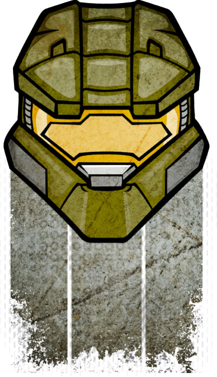 John-117 Master Chief   Stickers and T's - Redbubble