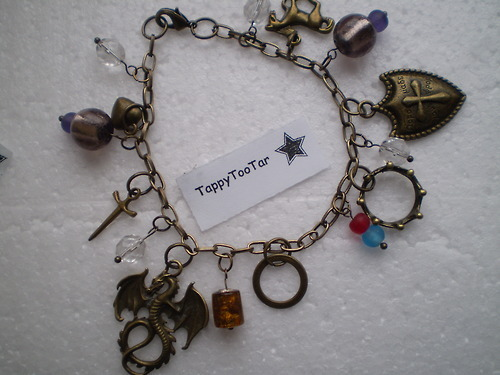Merlin Charm Bracelet Available on Etsy(click picture)