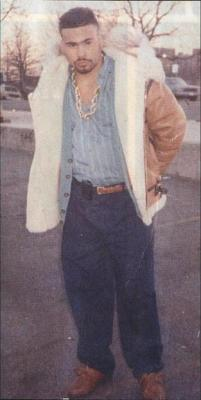 rl44:  This is the late Great Big Pun before he gained weight. I wonder if he had an eating disorder. He had money so he was eating, true, but he was allegedly 698 pounds when he passed away… Rest in Paradise!