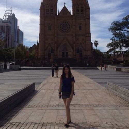 ⛪😊 #eastersaturday #sydney #stmaryscathedral