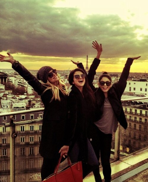 Spring Breakers together again - in Paris.