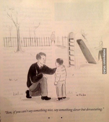 9gag:  Internet Parenting 101   Noted dad