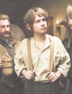 lord of the rings the hobbit martin freeman LOTR bilbo baggins fili the hobbit: an unexpected journey dean o'gorman