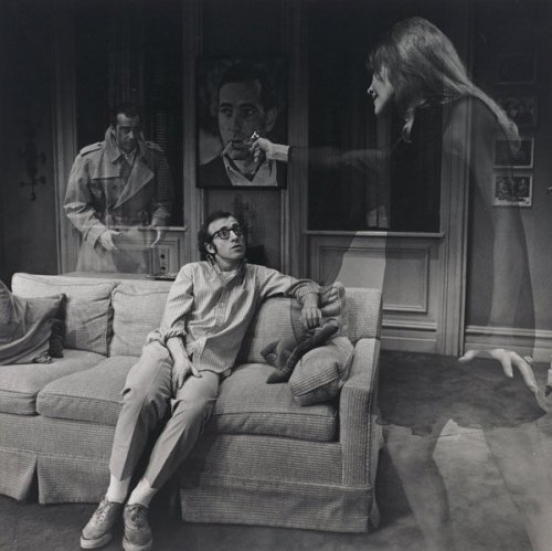 Woody Allen and Diane Keaton, Play It Again Sam, 1969 — Philippe Halsman