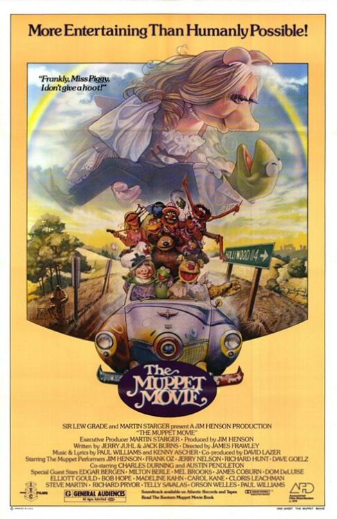 2. The Muppet Movie (dir. James Frawley, 1979)