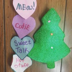 When holidays collide. #valentines #decoration #holidays #country #diner (at Prattsville Diner)