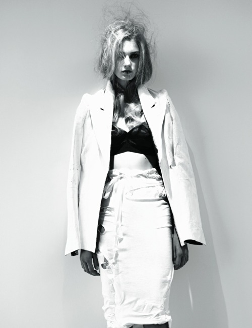 "Sigrid Agren in ""Power of Invention"" by Willy Vanderperre for Another magazine."