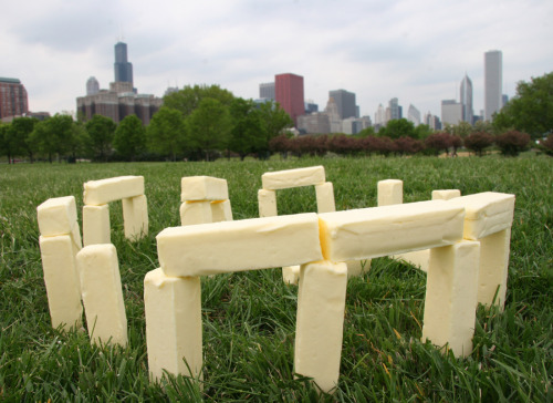 prince-not-as-charming:  goldenclitoris:  is that butter  no it's stonehenge