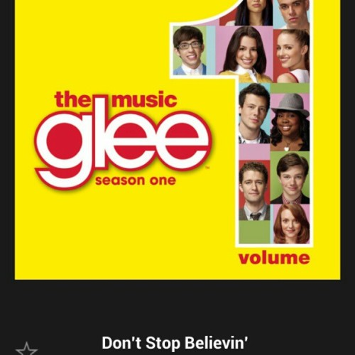 Taking it back to #season #1 #nowplaying #Gleecast - #dont #stop #believing #glee #cast #dontstopbelieving #season1 #journey #music #spotify #florida #okeechobee