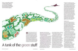 'A tank of the green stuff' editorial