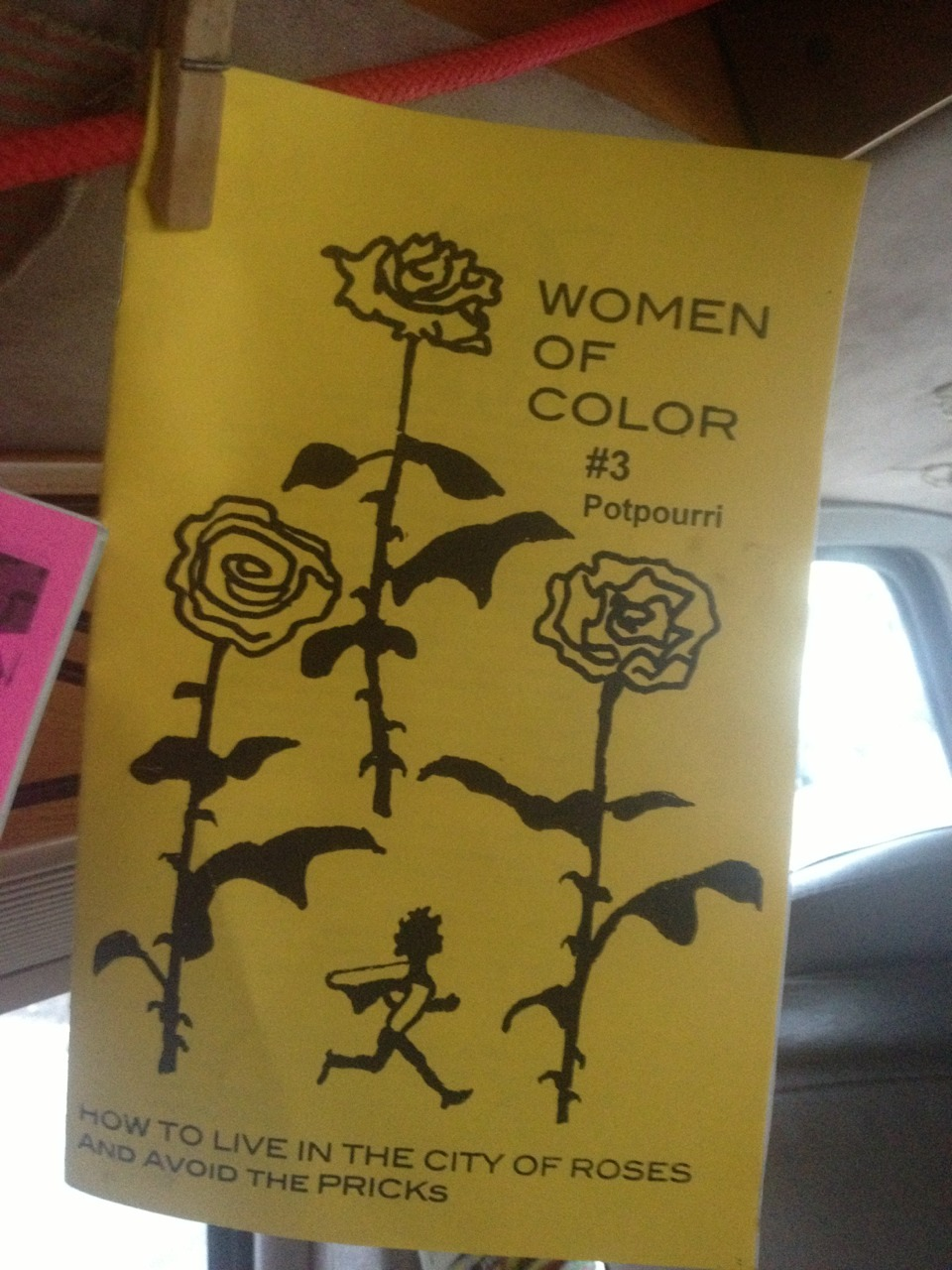 zine of the day—Women of Color #3 (Potpourri) / how to live in the city of roses and avoid the pricks