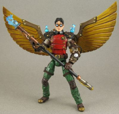 Steampunk Robin Custom Action Figure