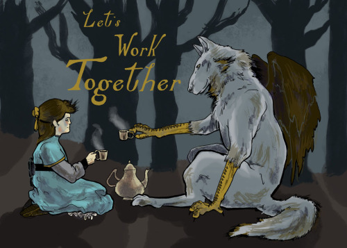 Collaboration Postcard for class.  I don't know what to think of it, it seems kind of silly to me.