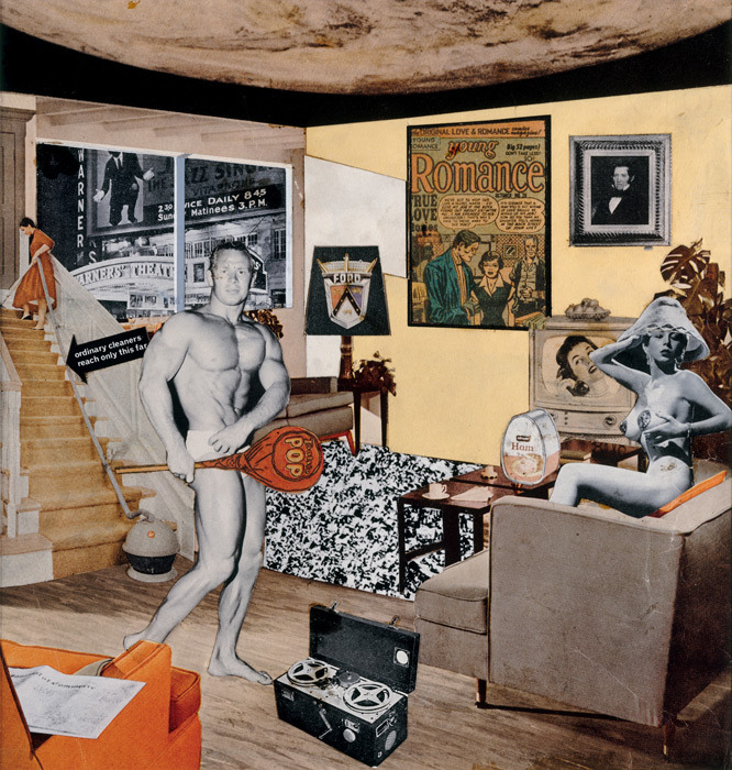 Richard Hamilton -just what is it that makes today's homes so different, so appealing?, 1956