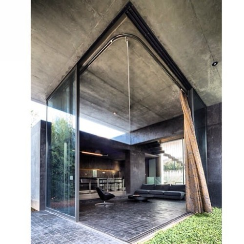 Great indoor/outdoor space and design ! Residence in Kato Kifissia by Tense Architecture Network. #interior #design #architecture