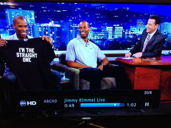 Jimmy Kimmel - Thanks to @jimmykimmel for the tshirt parting gift….this ought to clear things up.