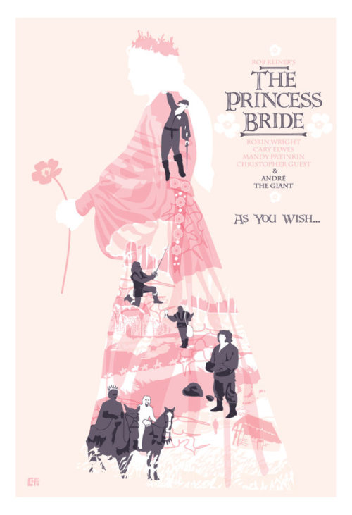 fuckyeahmovieposters:  The Princess Bride by Cute Streak Designs
