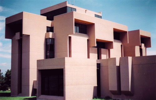 architectureofdoom:  National Center for Atmospheric Research, Boulder, I.M. Pei, 1961-67 View this on the map  Outstanding!!!!