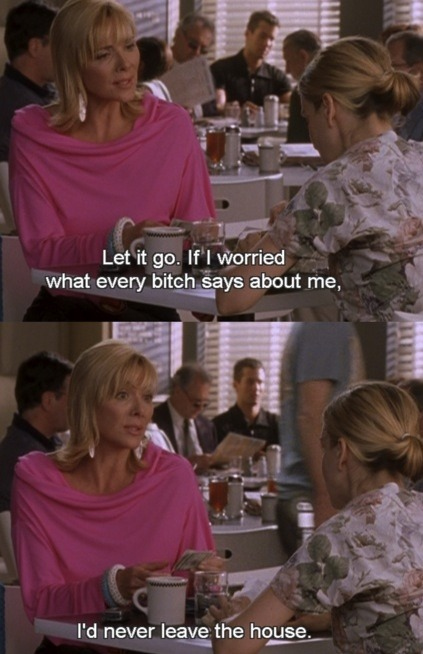 loveandlabels1:  Gotta love Samantha Jones!