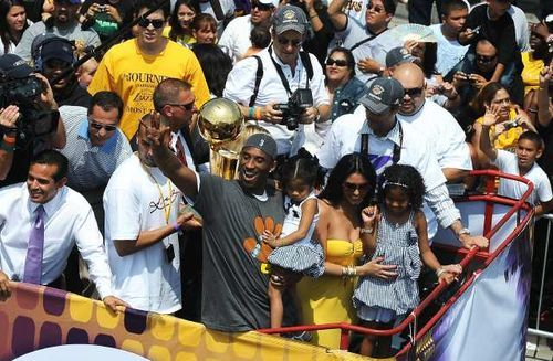 How the Mighty Have Fallen Bus rides down Figueroa Street, Laker chants in every sports bar, purple and gold oceans in downtown Los Angeles, me standing in the middle of those oceans; those days are long gone. I've been a Laker fan my entire life, and that is not coming to end. Unfortunately, this season has come to an end and I'm left with a strange feeling the organization is so far removed from the glory days that its current management team simply does not have the formula needed to get the team back to those days. The team has put itself in a predicament and for the first time in the history of this legendary team, it has no control over its immediate future. The Lakers are the type of team that doesn't really have an off-season. Even when basketball is not being played, the Lakers are making moves, preparing for the new season; and everybody follows, reports, and discusses each one from rumor to reality. So what should we Laker fans expect this off-season? This year could consist of one big question being answered followed by a bunch of nothing, leading to a 2013-14 season that could be a repeat of the 2012-13 season. Jim Buss, the not-so-basketball-savvy son of the basketball genius, Dr. Jerry Buss, has put the team's future on Dwight Howard. Dwight Howard has already admitted this season was a nightmare, this after being ejected during a 7-point performance during the elimination game against the Spurs. Yet, Buss and Mitch Kupchak, Lakers' GM, insist Howard is staying a Laker. Since Howard is an unrestricted free agent now, the Lakers will make zero moves until Howard makes a decision, and Howard has proven  he's not the best at making quick decisions. So what happens when Howard finally makes up his mind? If Howard decides to stay, the Lakers will enter a 5-year, $108M commitment with Howard, leaving the Lakers little money for other players. This will leave the Lakers with the decision to amnesty Kobe Bryant, the person who has been the face of the Lakers for 17 seasons. This would be an ultimate slap in Kobe's face but while I think Jim Buss values dollars over winning, I don't believe he will take this route. The only other player of trade value is Pau Gasol. I have never been the biggest fan of Gasol, but I'll admit he was treated like garbage this year and he handled it like a true professional. This trade would have to bring in some serious young talent to make this worthwhile.  On the other hand, if Howard decides he doesn't want to play with Kobe Bryant for even one more year and decides to go somewhere else, that's $108M the Lakers get to pocket. This is the decision that puts Lakers management in a position they are accustomed to—one where they hold the cards. The team would now have the ability to go after young talent, they could move up in the first round of the draft, they could start thinking about life after Kobe rather than forcing in a replacement before Kobe is ready to step aside (there can only be one Alpha). In my honest opinion, losing Howard would actually be the best thing that could happen to the Lakers. As a long time Laker fan, I can say this has been the most frustrating season I've ever experienced. I'm actually glad this year is over for the Lakers. But as always, there will be no off-season. The new Lakers season begins tomorrow. Kobe can now dedicate himself to therapy full-time, Howard can stop pretending to like his teammates and can start smiling again until the season ends and he can make his announcement, Kupchak can start trying to convince Jim Buss that D'Antoni's system simply won't work with this team, and we can start speculating about the move that will move the Lakers into the top 15 picks of the first round of the NBA draft. Monday, April 29 2013: The beginning of the 2013-14 Lakers season. It wil be a tall order to get back to the days of purple and gold oceans along Figueroa Street, but in Los Angeles, every dream can become reality. Look around, our City of Angels will chew you up and spit you out, only after that can you rise to become successful and call the city your own. The Lakers must now begin to rise once again, as they did in the 90s.