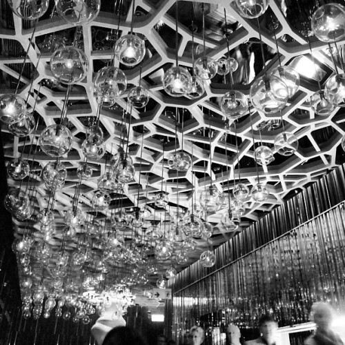 The highest bar in HK. #interior #hongkong #travel #instago #bw #iphonesia