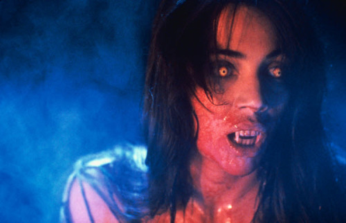 ruthlessrodriguez:  Regine Dandridge(Julie Carmen) Fright Night Part II 1988