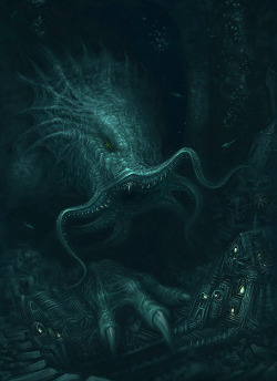 ghostsinyou:  Cthulhu Returns by *ScottPurdy