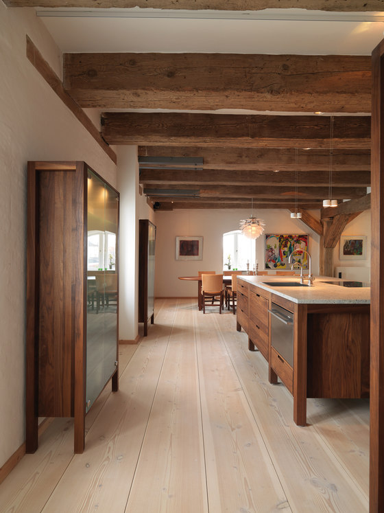 justthedesign:  Kitchen Area At A Private Residence In Copenhagen By Knud Kapper Photography Courtesy Of Dinesen