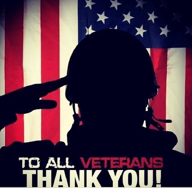 Thanks to all who have served, are serving, and will serve!  You are the real faces of America