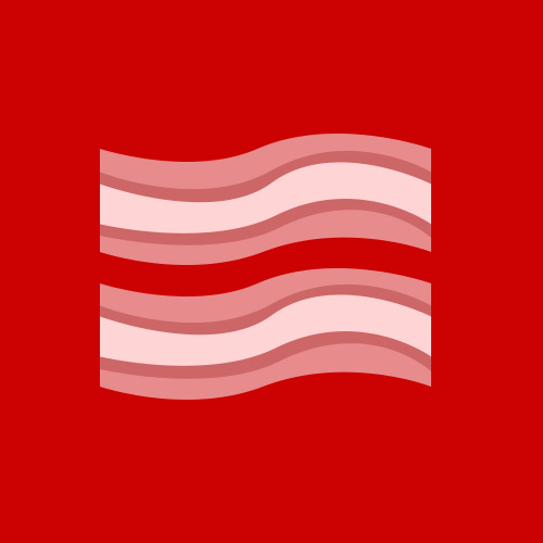 I don't know what everyone else is supporting but I am gay for bacon!