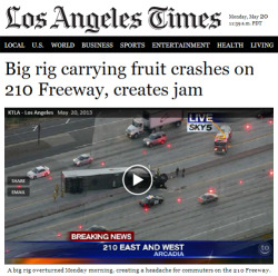 tastefullyoffensive:  Headline of the year.[latimes]  So that's how jam is made D: