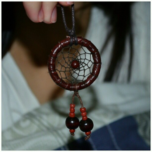 istalkfashion:  Dreamcatcher. Thanks to my beautiful sister @shaimeow #instadaily #igers #lateupload