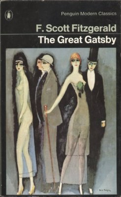 """The Great Gatsby"" by F. Scott Fitzgerald. In The Great Gatsby F. Scott Fitzgerald brilliantly captures both the disillusion of post-war America and the moral failure of a society obsessed with wealth and status. But he does more than render the essence of a particular time and place, for in chronicling Gatsby's tragic pursuit of his dream, Fitzgerald recreates the universal conflict between illusion and reality. (via bookmania:)"