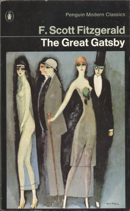 "bookmania:   ""The Great Gatsby"" by F. Scott Fitzgerald. In The Great Gatsby F. Scott Fitzgerald brilliantly captures both the disillusion of post-war America and the moral failure of a society obsessed with wealth and status. But he does more than render the essence of a particular time and place, for in chronicling Gatsby's tragic pursuit of his dream, Fitzgerald recreates the universal conflict between illusion and reality.   i heard the movie was awful.great book though."