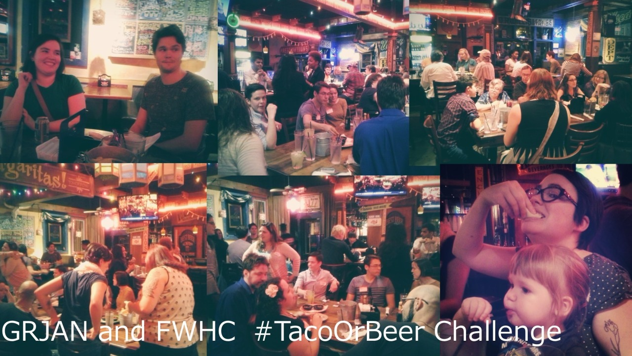 TheGeorgia Reproductive Justice Access Networkpartnered with Feminist Women's Health Center-Atlanta to take the Taco or Beer Challenge last night! More than 50 people came out and helped us raise $680 for abortion access and reproductive justice work in the southeast.Learn moreabout GRJAN ordonateto support our work.
