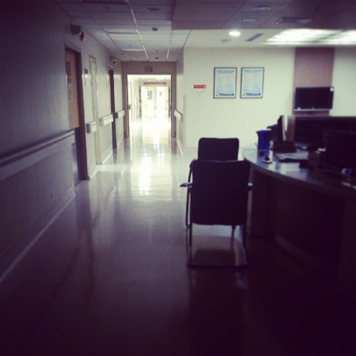 First night…  (at The Medical City)