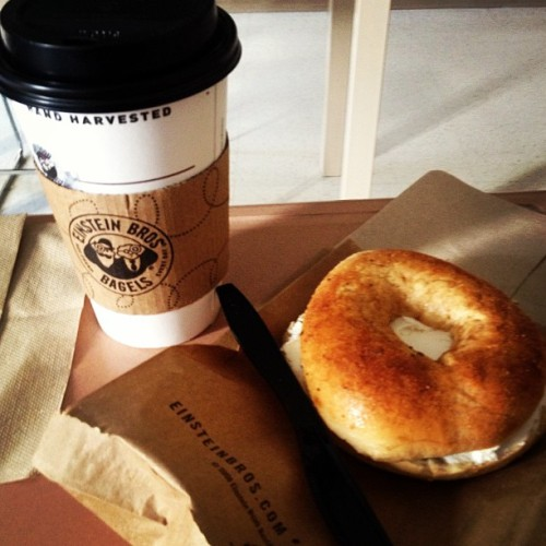 Breakfast #bagel #yummy #foodie