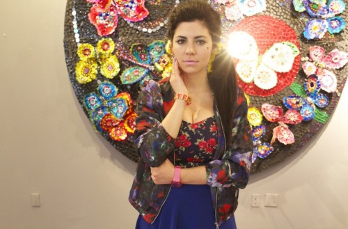 stylelikeu:  Our newest muse equals Marina (aka Marina & the Diamonds) — xoxo E&L  MARINA x Chris Tanner!!!!