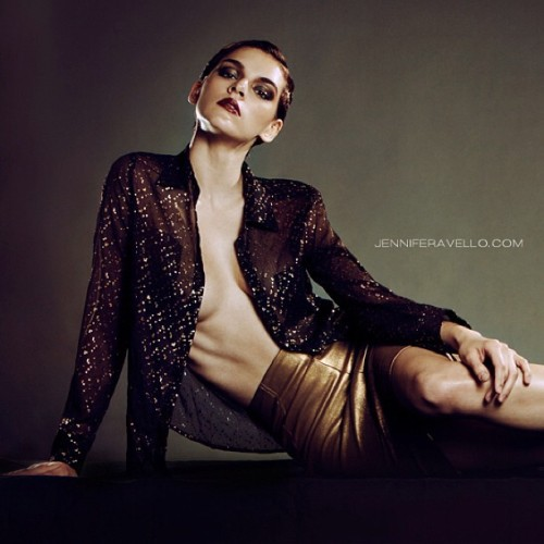 @dbl_n_jenn @fordmodels_chi @fordmodels for BAMBI #magazine issue XIV by Jennifer Avello @andreasamuelsmakeup @thomasvstylist