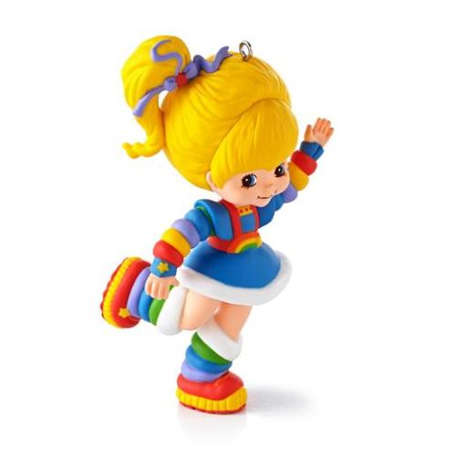 sharetherainbow:  Hallmark released photos of the new Rainbow Brite Christmas ornament they will be selling. The ornament is due out in July and will be $14.95 each. I am wanting this so badly! *Grabby hands* gimmie gimmie!